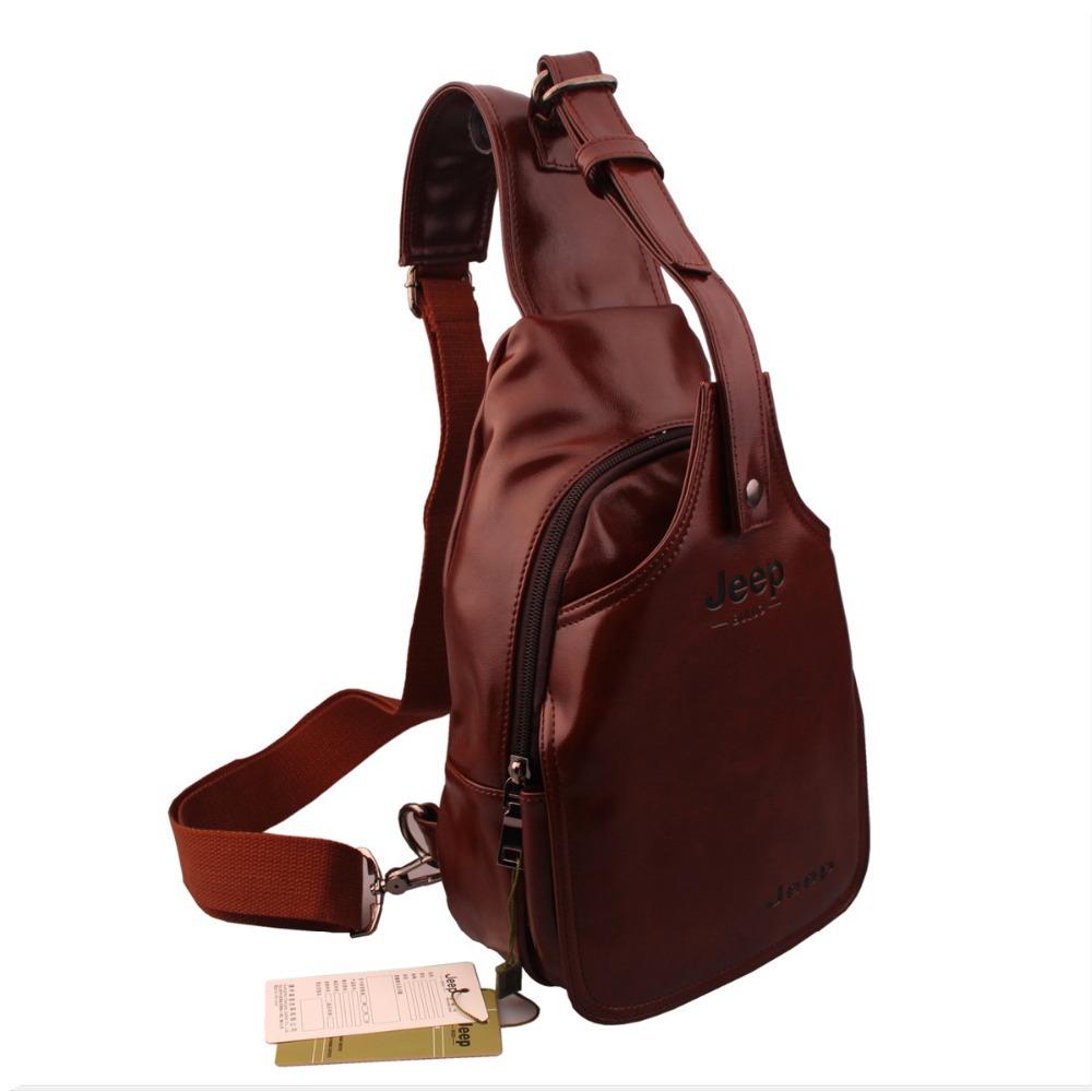 2015 new fashion men Shoulder Bag Genuine Leather Chest Pack bolsas Men Messenger bag Crossbody Bag Man Mobile Bag free shipping(China (Mainland))