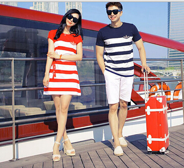 ... Cute Korea Matching Couple Shirts 2210 Picture in from Sports
