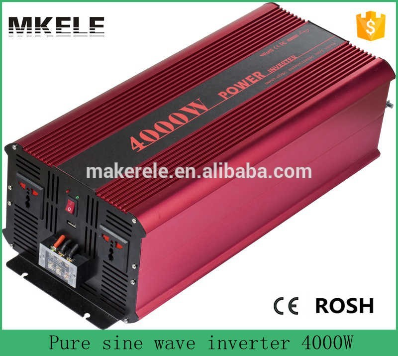 MKP4000-121R industrial inverters off grid 4000 watt pure sine wave inverter 12v to 110v/120v power inverter made in china(China (Mainland))