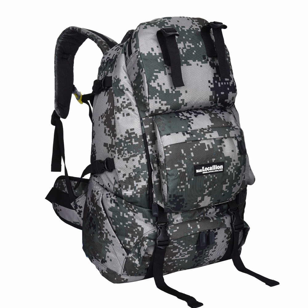 Outdoor Waterproof Tactical Military Bag Hiking Travel Camo Backpack Large Capacity Shock Resistance Durable Knapsack Handbag(China (Mainland))
