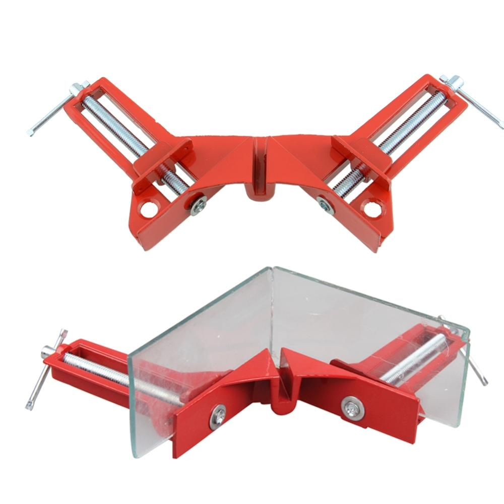 Free Shipping 90 Degree Right Angle Clip Picture Frame Corner Clamp Woodworking Hand Tool Kit Hot