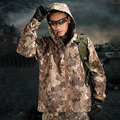 Outdoors Spring Autumn TAD Shark Skin Hard Shell Pressure Rubber Camouflage Waterproof Snake Texture Army Tactical