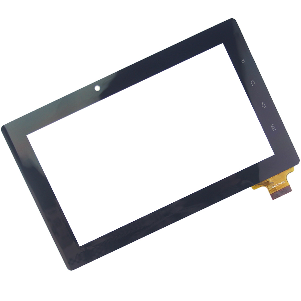"""7"""" inch Black Touch Screen 300-N3690B-A00-V1.0 N3690B for Freeland PD10 PD20 18.5mm Glass Panel Sensor Lens Replacement(China (Mainland))"""