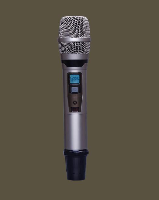 Professional wireless UHF handheld microphone system DJ Karaoke 4 channel cordless Handheld mic easy operate hot selling