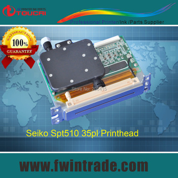 Guarantee original and brand new Japanese printing machine spare parats spt510/35pl printhead