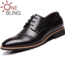 Promotions Men Genuine Leather Dress Shoes 2016 Spring Fashion Casual Flat Shoes Breathable Lightweight Mens Oxfords Size 38-44