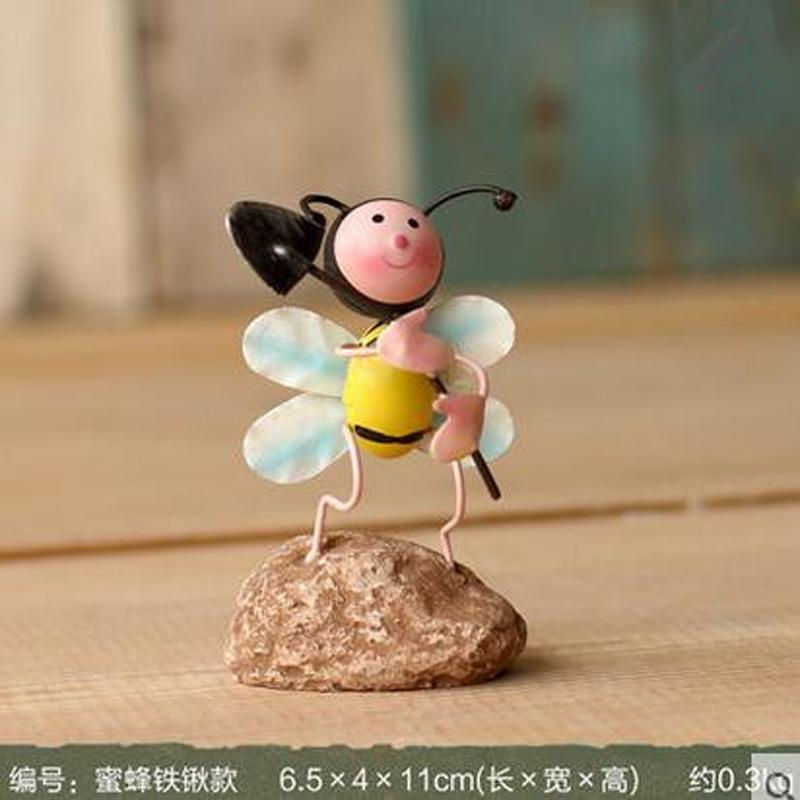 High Quality European Modern Decor Bee Doll Crafts Handicraft Desk Home Decoration Accessories Far(China (Mainland))
