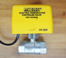"AE-Q20 Motorized Two Way Ball Valve BSP 3/4"" for our solar water heater controller(China (Mainland))"