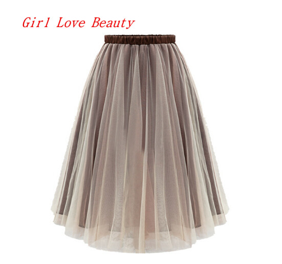 2015 new arrival casual maxi skirt lace solid