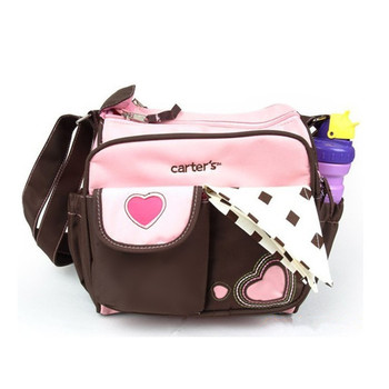 Free shipping small diaper bags,mummy bags two colors bule and pink for option