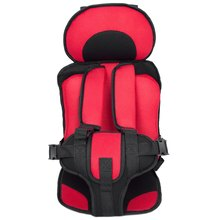 New 0-10 Years Baby Red Car Seat Baby Safety Car Seat Children's Chairs in the Car Updated Version Thickening Kids Car Seats(China (Mainland))