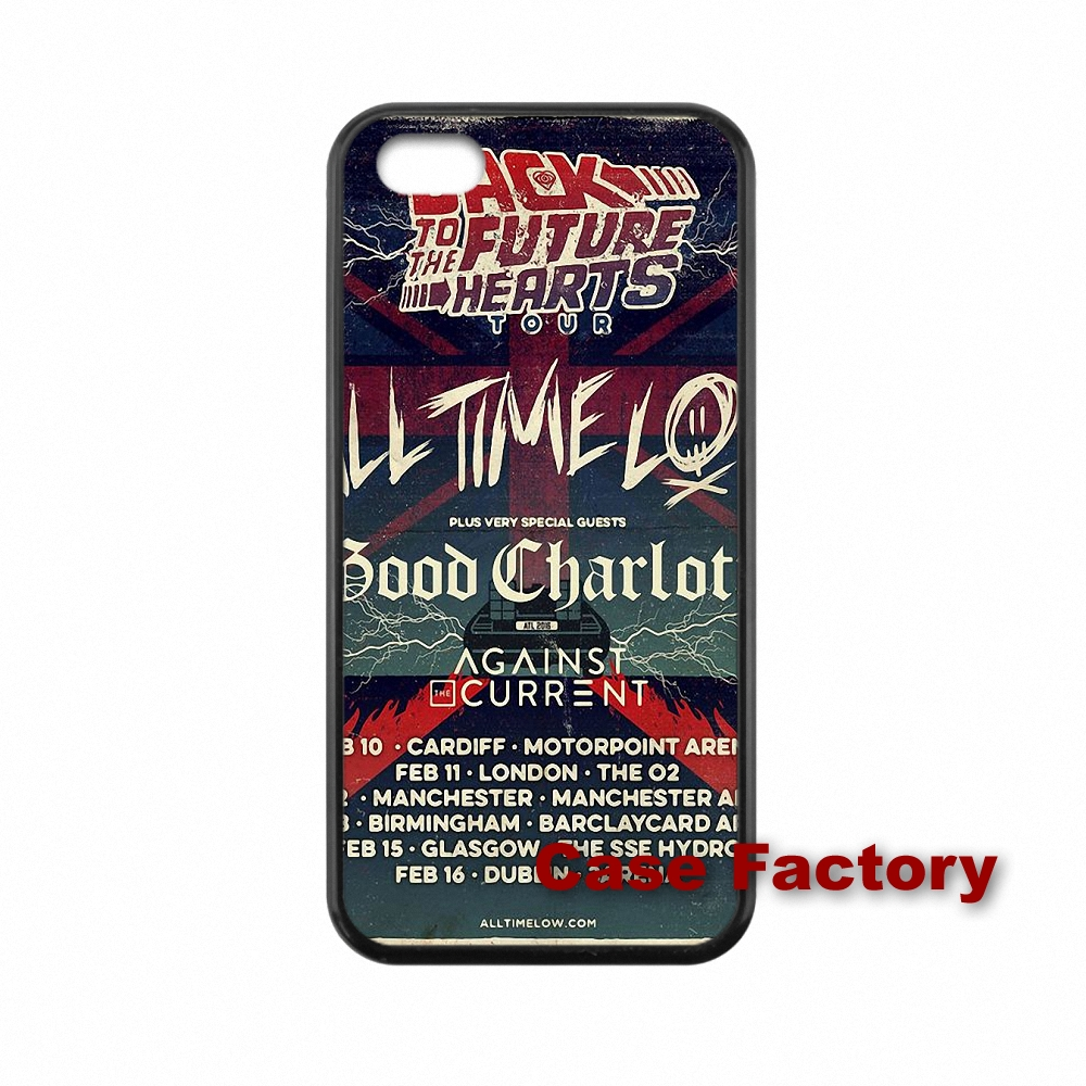 Music Band All Time Low For Sony Xperia Z Z1 Z2 Z3 Z4 Z5 Premium compact M2 M4 M5 C C3 C4 C5 E4 T3 Hard PC Skin accessories(China (Mainland))