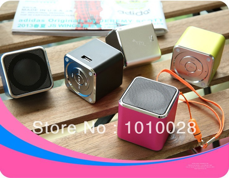 MUSIC ANGEL MD07U USB speaker TF card sound box+FM radio+Card reader+ Portable mini speker - FSC ELECTRONIC store
