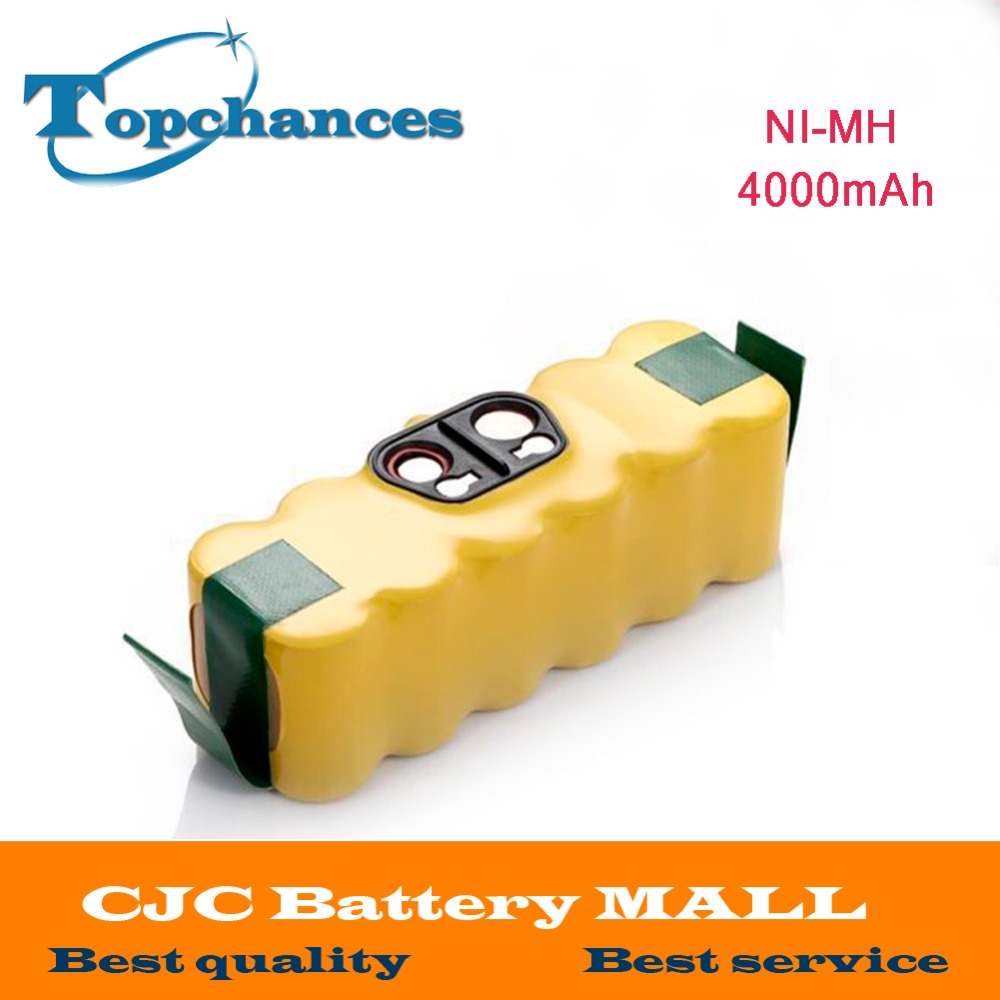 New 4000mah NI-MH Vacuum Battery for iRobot Roomba 500 560 530 510 562 550 570 581 610 650 790 780 532 760 770 battery Robotics(China (Mainland))