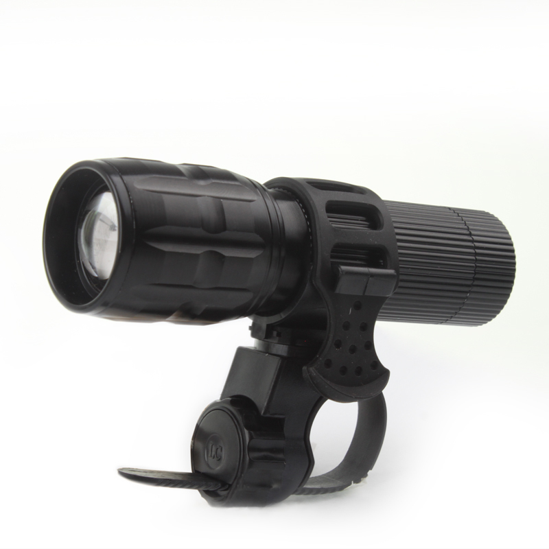 2000lm Mini Bicycle LED Flashlight! Strong Lumens Lanterna Torch Light Zoomable Lantern Penlight Bike Light+Torch Holder MBI-36(China (Mainland))