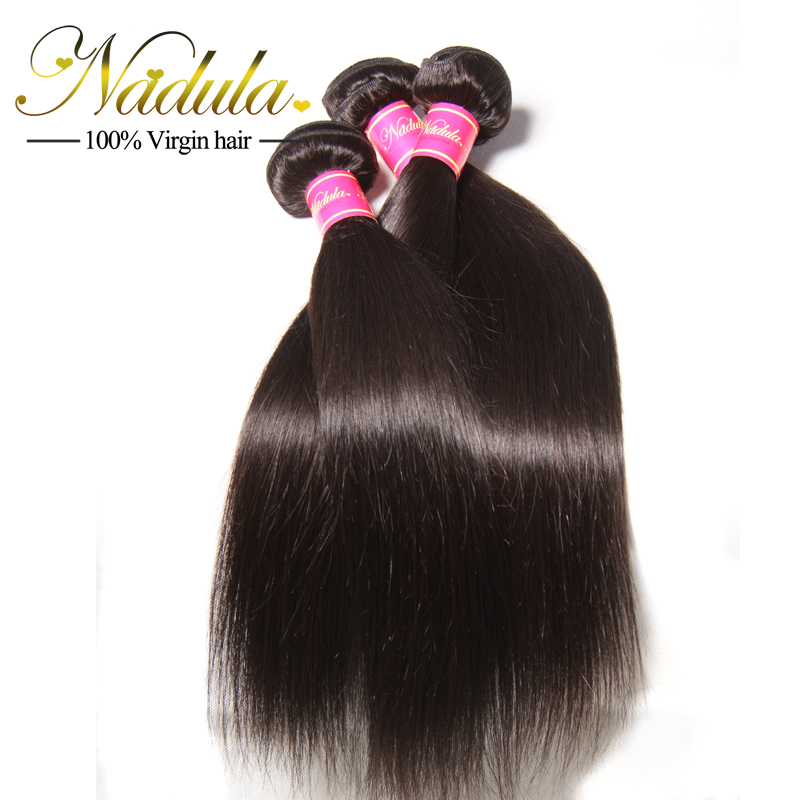 Beauty Cambodian Straight Virgin Hair 4 Bundle Deals 7A Unprocessed Natural Hair Cambodian Straight Human Hair Extension(China (Mainland))