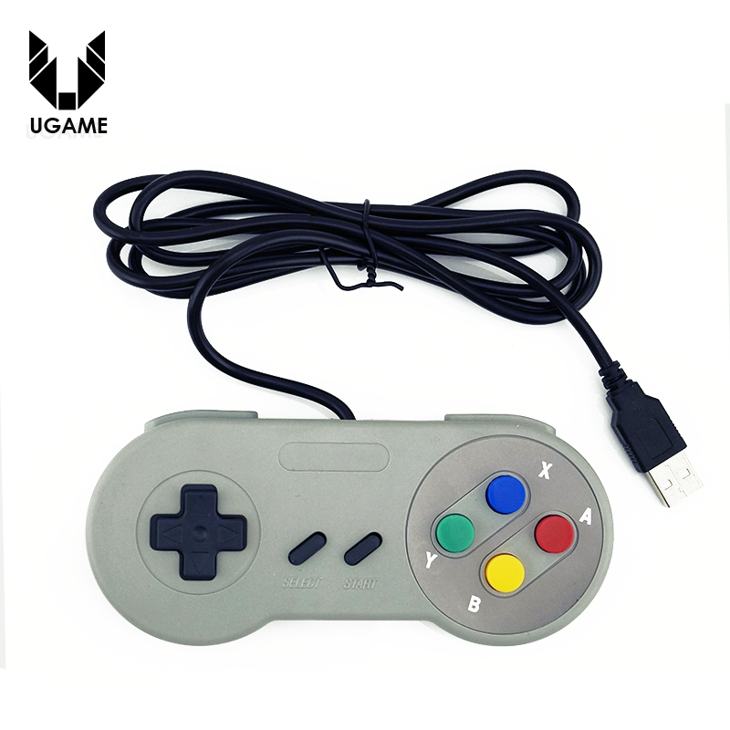 Retro Super for Nintendo SNES USB Controller for PC for MAC Controllers SEALED(China (Mainland))