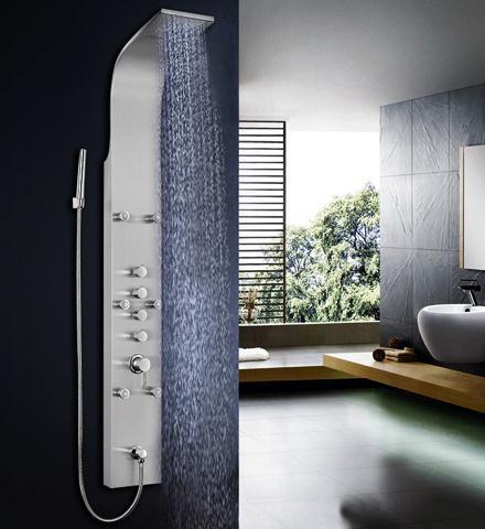 Shower shower column shower copper bibcock shower screen stainless steel sanitary 8813(China (Mainland))