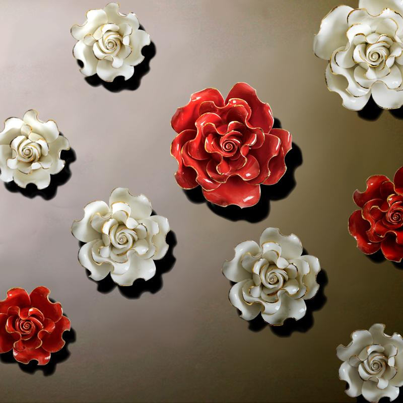 Ceramic Wall Flowers Wall Flowers Ceramic China
