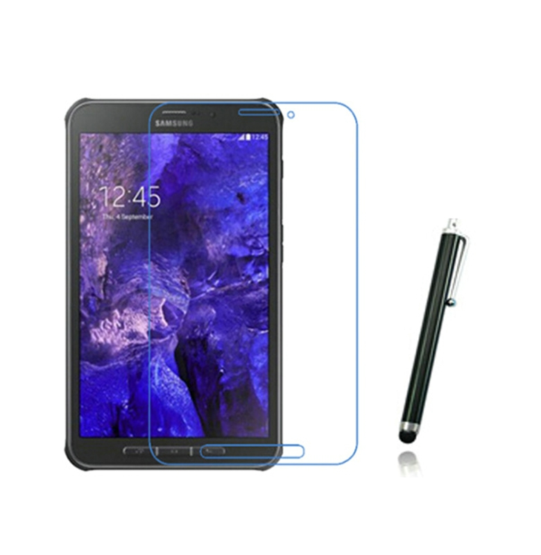 1x films + 1x Clean cloth + 1x Stylus, Clear LCD Screen Protector Protective Film Guards For Samsung Galaxy Tab Active T365 T360<br><br>Aliexpress