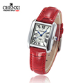 CHENXI Relogio Feminino Watch Women Elegant Retro Watches Women Luxury Clock Quartz Watch Female Leather Women