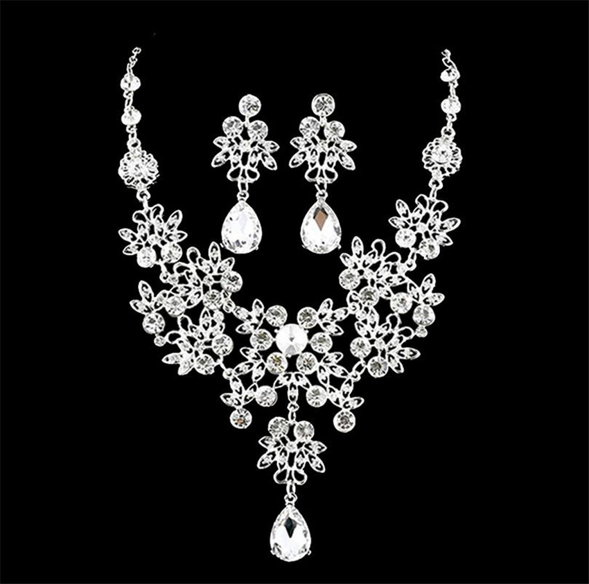bridal jewerly sets fashion women wedding bridal wedding accessories