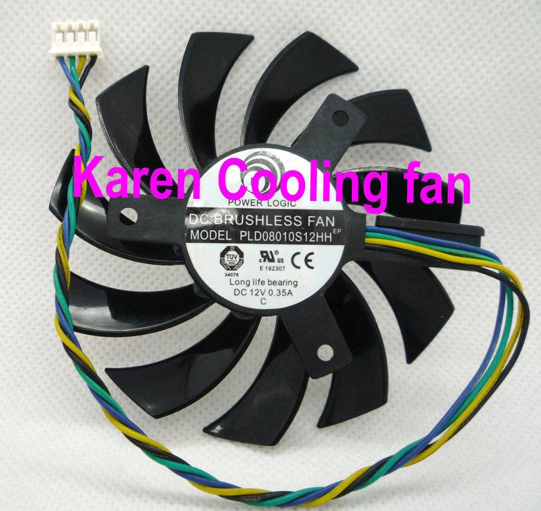100%New Original  PLD08010S12HH 12 V 0.35A Power High-end graphics card fan<br><br>Aliexpress