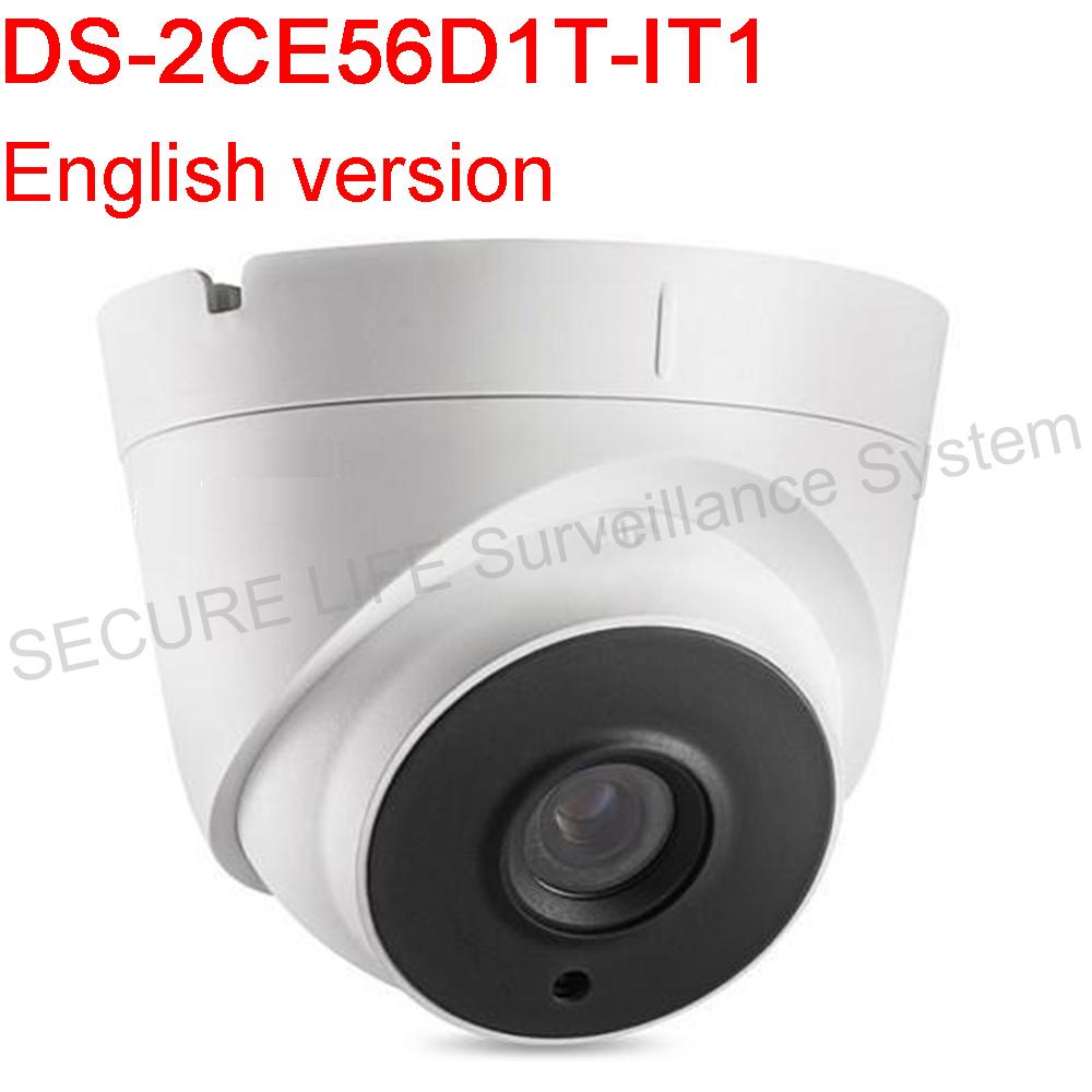 Фотография English version DS-2CE56D1T-IT1 HD1080P EXIR Turret Camera Support IP66 weatherproof True Day/Night