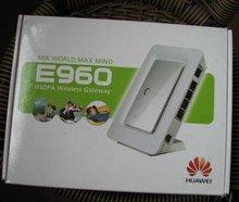 Wholesale-HuaWei E960 WIFI HSPA 7.2 Mbps Broadband WIFI Gateway Router+Gift&Free shipping(China (Mainland))