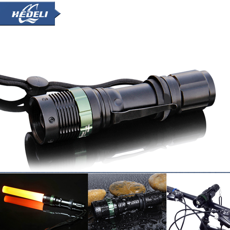 2015 Led Flashlight Hot Selling Zoomable Flashlight Cree Xpe Q5 Keychain Flash Light 18650 Rechargeable Lanterna Led Lamp Torch(China (Mainland))