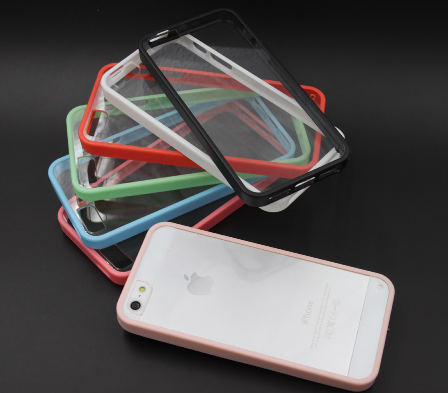 7 Colors Hard Plastic Crystal Clear Luxury Protective Cover Phone Cases iphone 5 5s 5G Case ACC0008 - Xi Sheng Technology Co., Ltd store