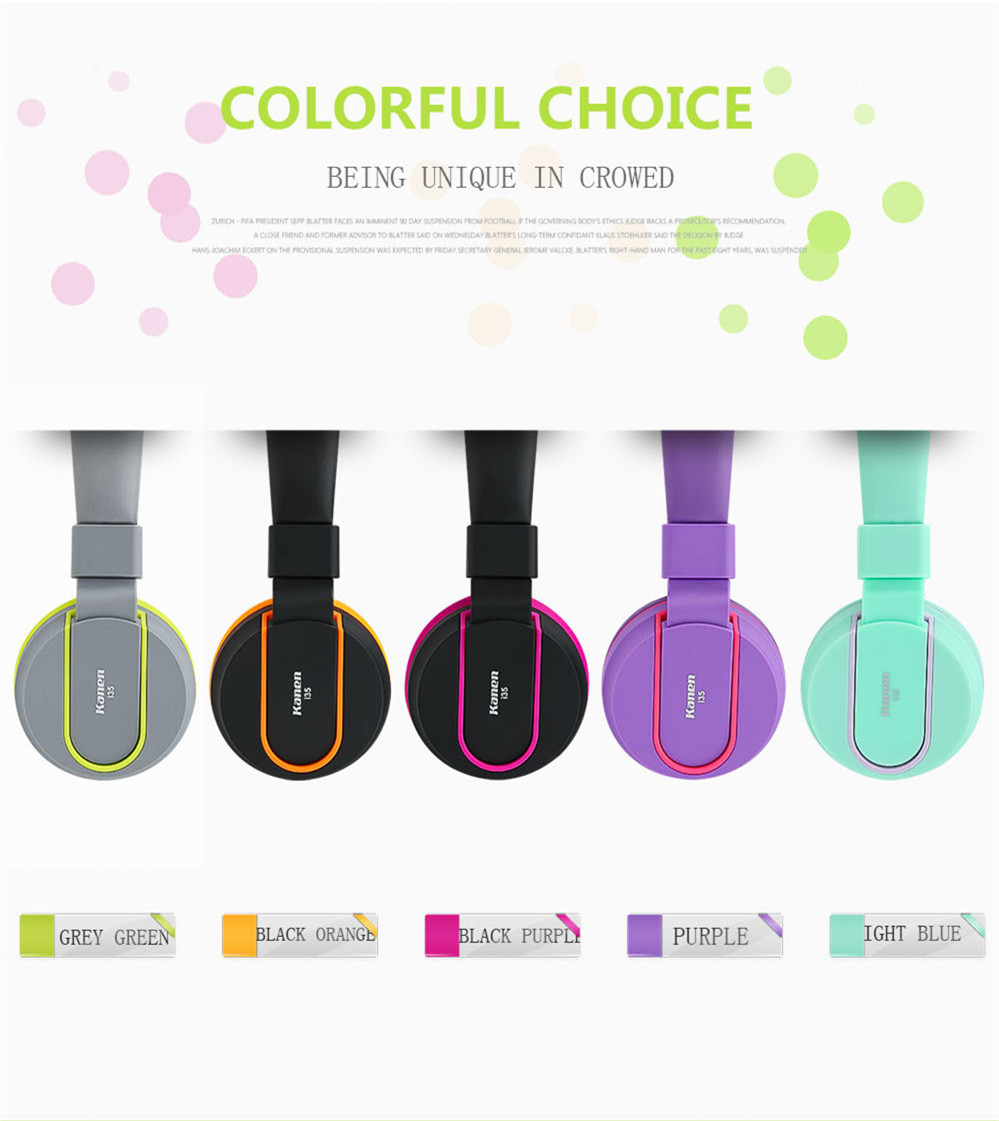 Sound Intone I35 Adjustable Headset Earphone Detachable Earbuds Headphone fone de ouvido with Microphone for Cellphone,Computer