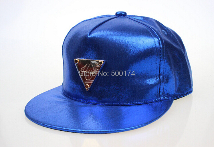 Laser fluorescent paint candy color hip-hop tidal flat along baseball hat men women - successful777 store