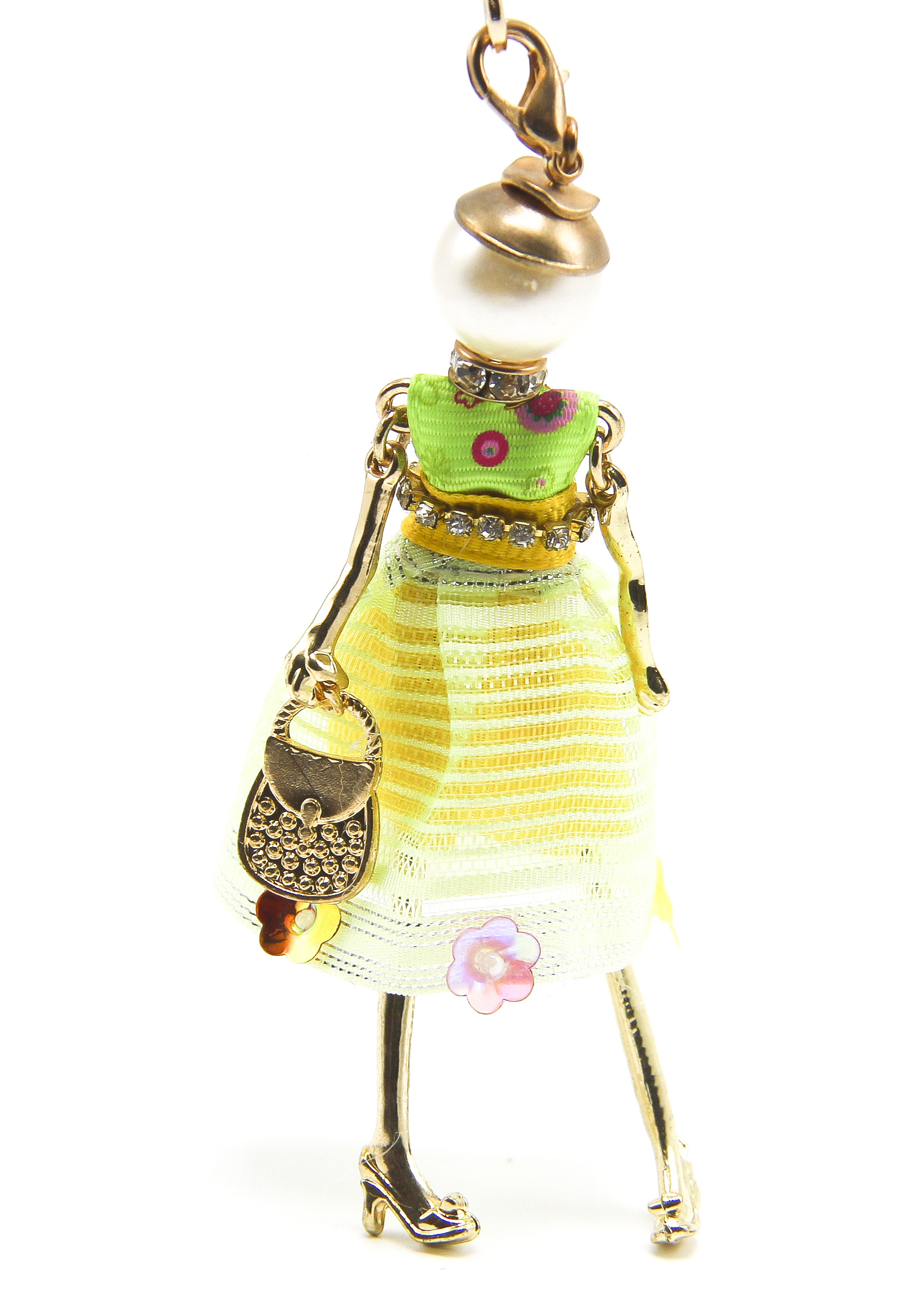 Yellow Autumn Fashion Charms Pendants Doll Necklace Cute Women Jewelry wholesaler Accessories(China (Mainland))
