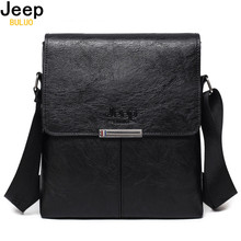 Buy JEEP BULUO Men Bag 2017 Fashion Mens Shoulder Bags High Leather Casual Messenger Bag Business Men's Travel Bags 0718 for $15.30 in AliExpress store