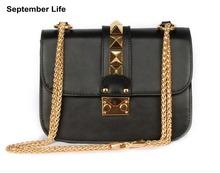 2016 Famous Brand Design Fashion Women Handbags 100% Genuine Cow Leather Tote Messenger Bag Bolsa Feminism Sac a main