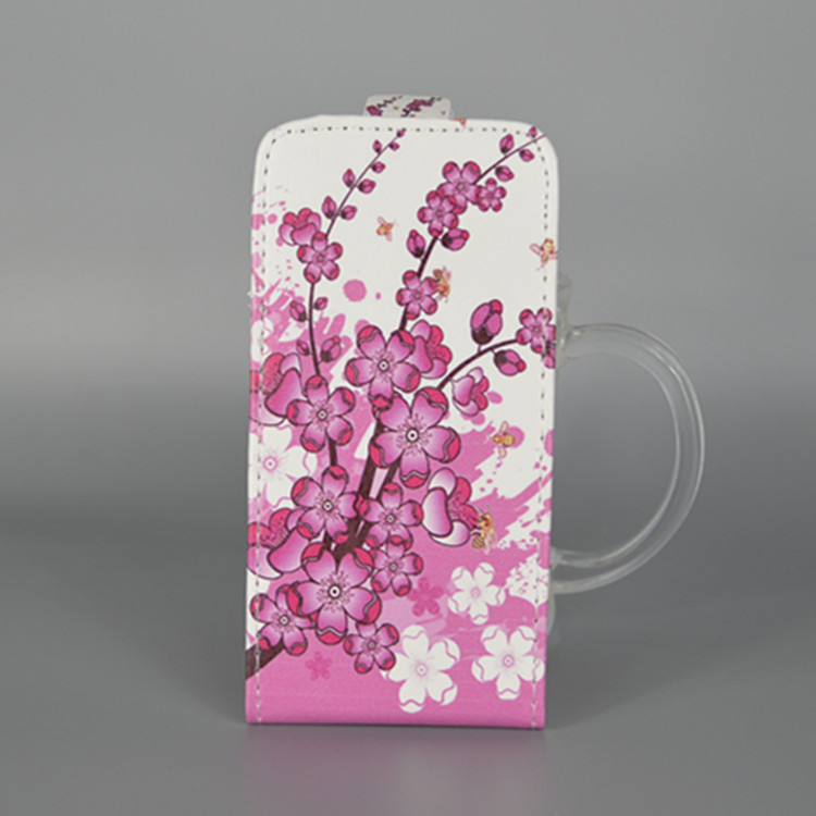 For HTC EVO 3D G17 Hot Pattern Cute PrintingVertical Flip Cover Open Down/up Back Cover filp leather case()