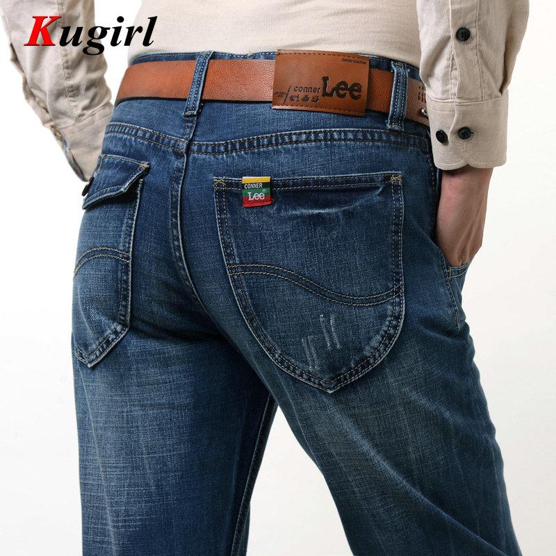 CONNER LEE jeans men High quality straight jeans famous brand men pants male cotton fashion jean pantalones vaqueros hombr boy(China (Mainland))