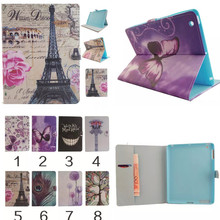 Wholesale XX for IPAD 4 PU leather case fashion cartoon cute design For IPAD 2 smart tablet case for IPAD 3 accessories  2016