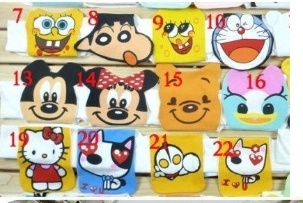 FREE SHIPING 20bags/lot/ 40pics totally Purified baby towel baby \sweat towl children \Sweat towel