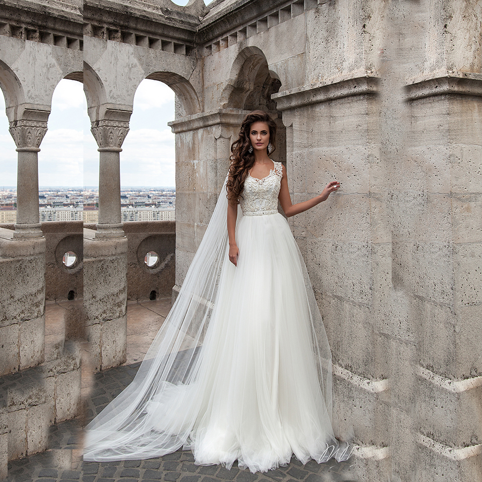 Стандарт-Линии свадебное платье простой свадебное платье