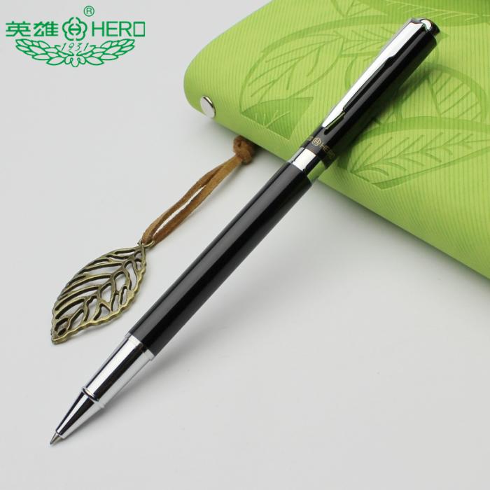 free shipping  office&amp;school supplies Hero brand  ballpoint pen 0.5mm  black ink  ball gel pen  student stationery <br><br>Aliexpress