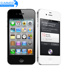 "Original Unlocked Apple iphone 4S Cell phones 3.5"" Retina IPS 16GB ROM Mobile Phone 8MP 1080P WCDMA GPS IOS Mobile Phone(China (Mainland))"