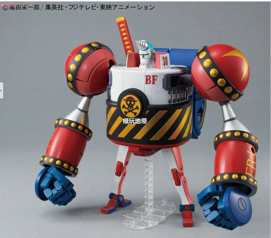Bandai anime franky one piece figure doll assembling model toy classic toys boys great action figures Christmas gifts(China (Mainland))