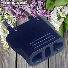 High quality! US to EU Plug adaptor plug convertor Travel plug Adapter Power Converter
