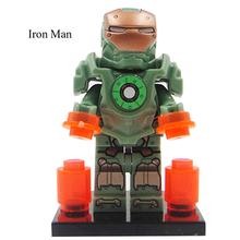 Kids Toys legoelieds Minifigure Marvel Super Heroes The Avengers X-Men/Skull/Iron Man Building Blocks Model Bricks pokemon Toys(China (Mainland))