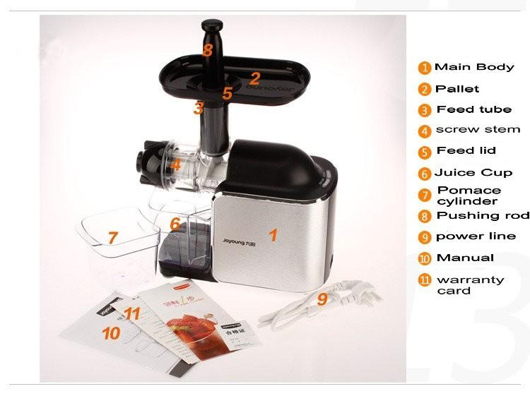 JOYOUNG SLOW JUICER JYZ-E8 11street Malaysia - Blender / Mixer / Juicer / Grinder