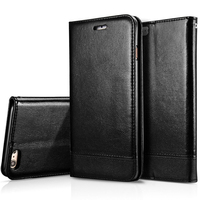 7Plus Wallet Case Phone Pouch For iPhone 7 7 Plus 6 6S Plus 5 5S SE Flip Leather Cover With Card Holder Stand Phone Aceessories