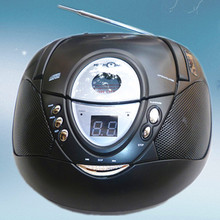 Portable Audio free shipping 2014 new hot  CD toaster portable CD player cd machine prenatal machine radio love and music player