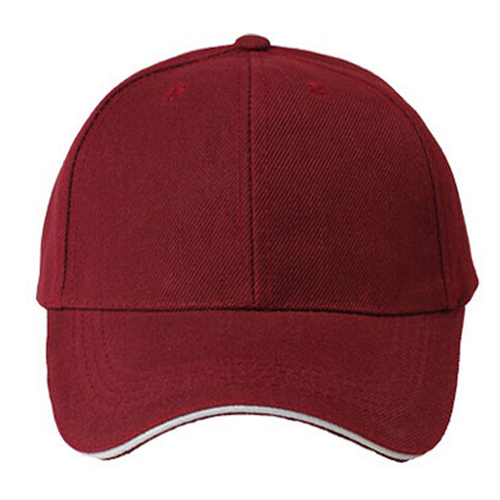 SYB 2016 NEW Plain Baseball Cap Mens Ladies Adult Hat Summer-Deep wine red(China (Mainland))